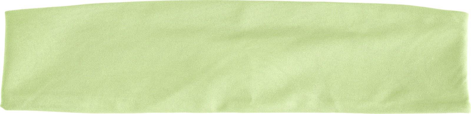 Polyester headband - Lime