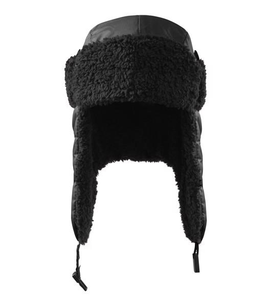 Cap unisex Malfini Furry - Black / S