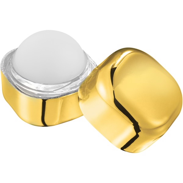 Rolli metallic non-SPF lip balm cube - Gold
