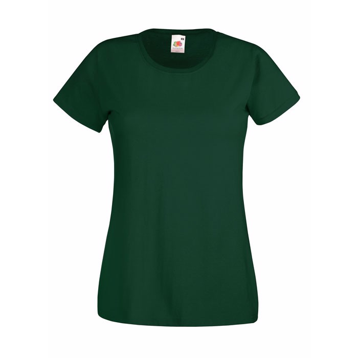 Lady-Fit T-Shirt 165 g/m² Lady-Fit Value Weight 61-372-0 - Bottle Green / XXL