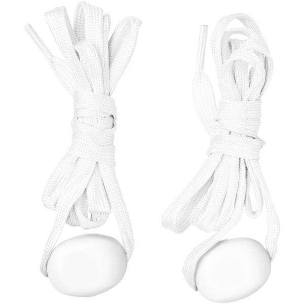 LightsUp! LED shoelaces - White