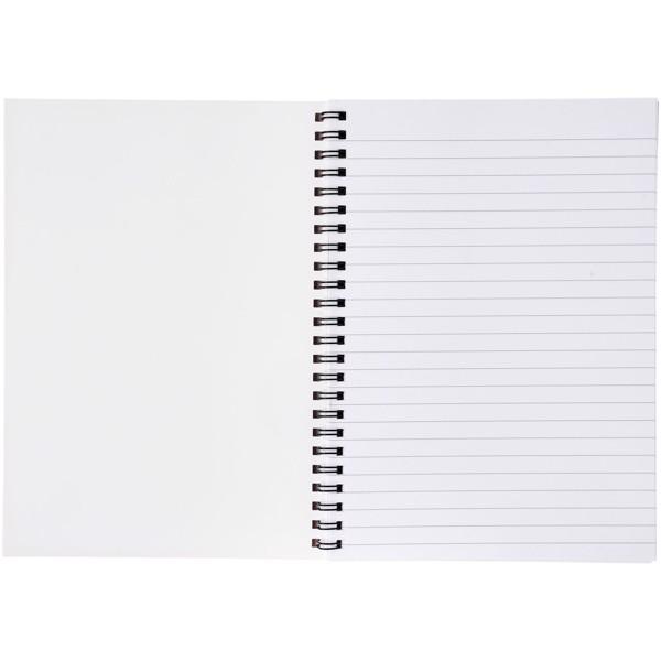 Poznámkový blok se syntetickými deskami Desk-Mate® A4 - Bílá / Černá