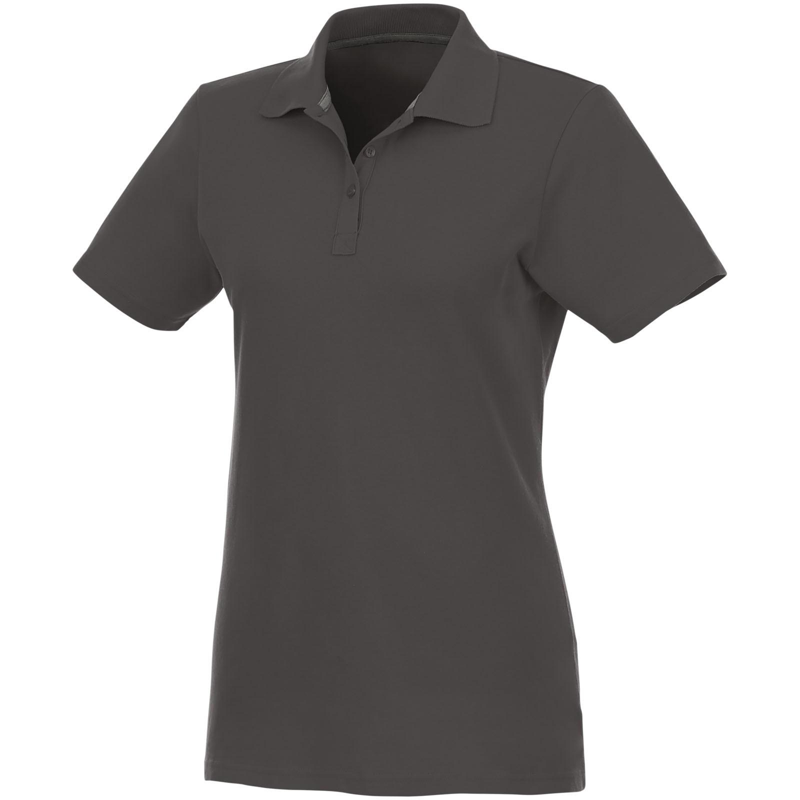 Helios short sleeve women's polo - Storm Grey / L