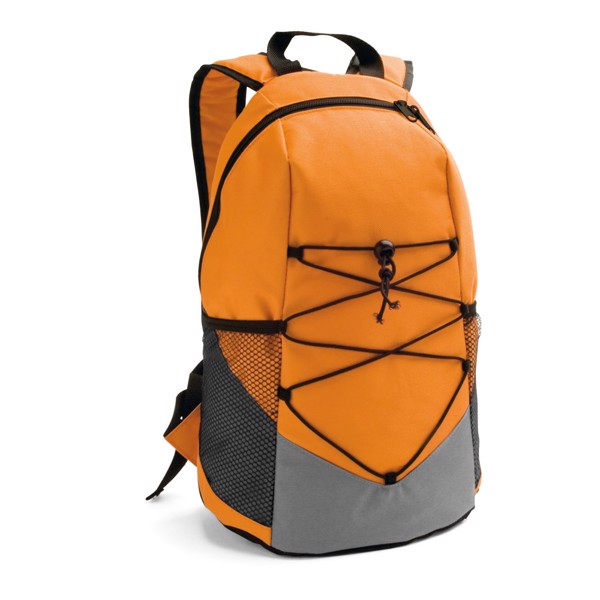 TURIM. Mochila en 600D - Naranja