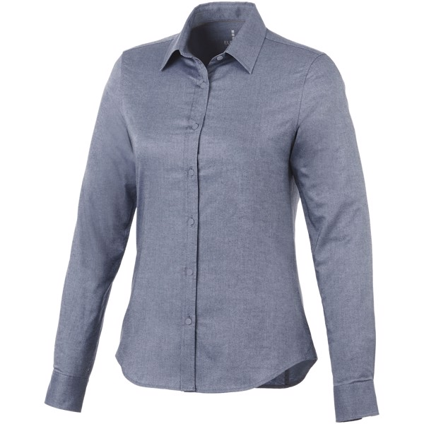 Vaillant long sleeve women's oxford shirt - Navy / XL