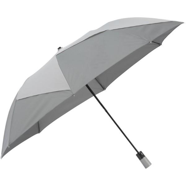 "Pinwheel 23"" foldable auto open umbrella - Grey"