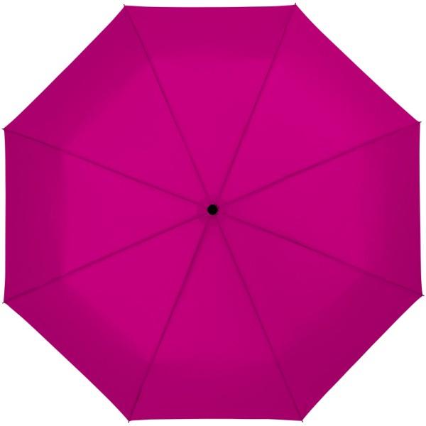 """Skládací deštník Wali 21"""" s automatickým otvíráním - Magenta"""