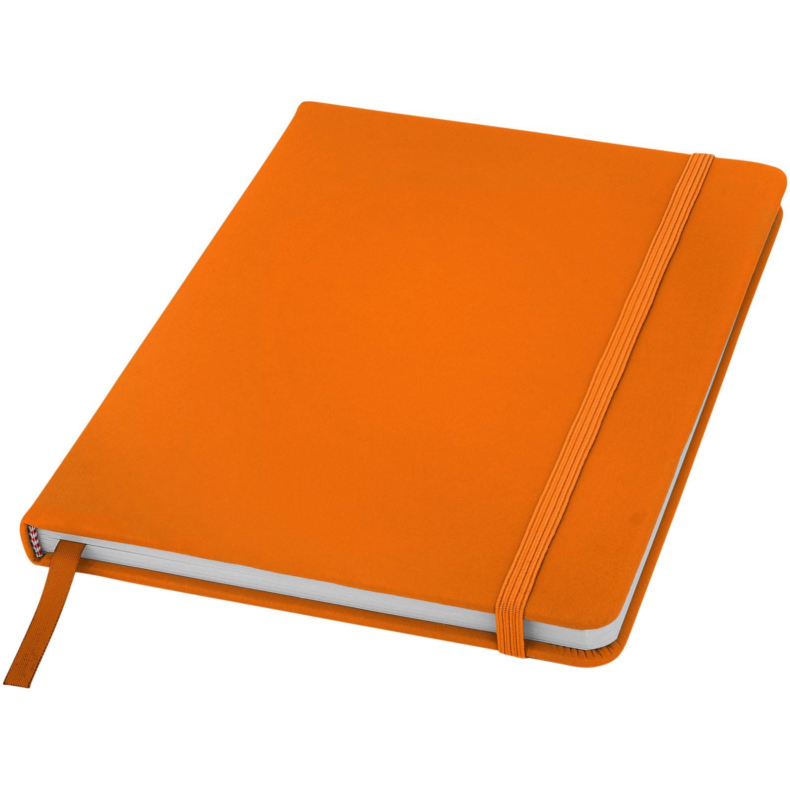 Zápisník s pevnou obálkou A5 Spectrum - 0ranžová