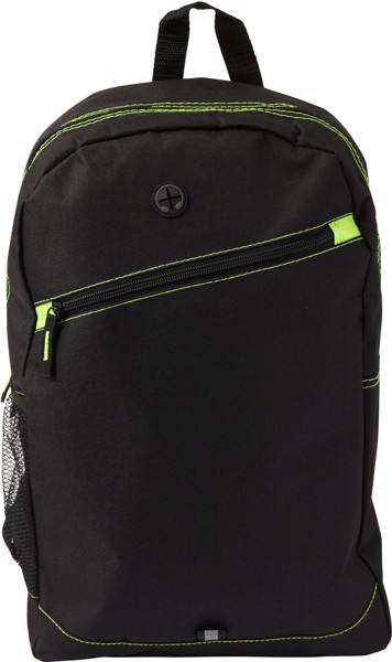 Polyester (600D) backpack - Lime