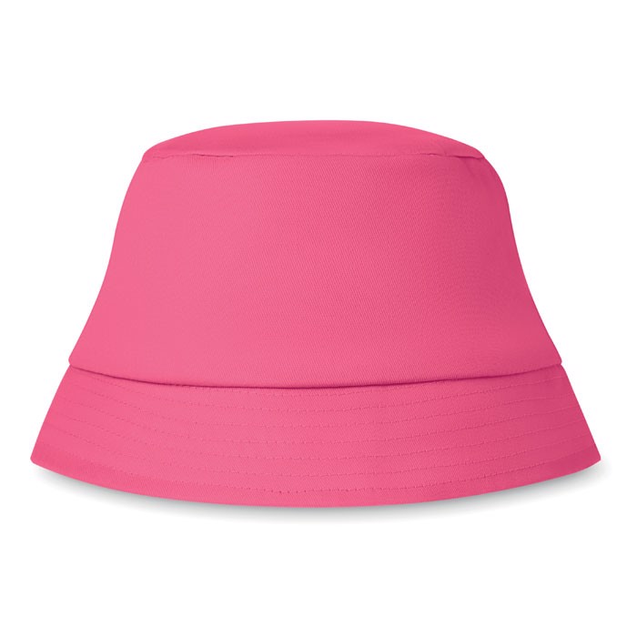Cotton sun hat Bilgola - Fuchsia