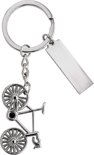 Nickel plated key holder