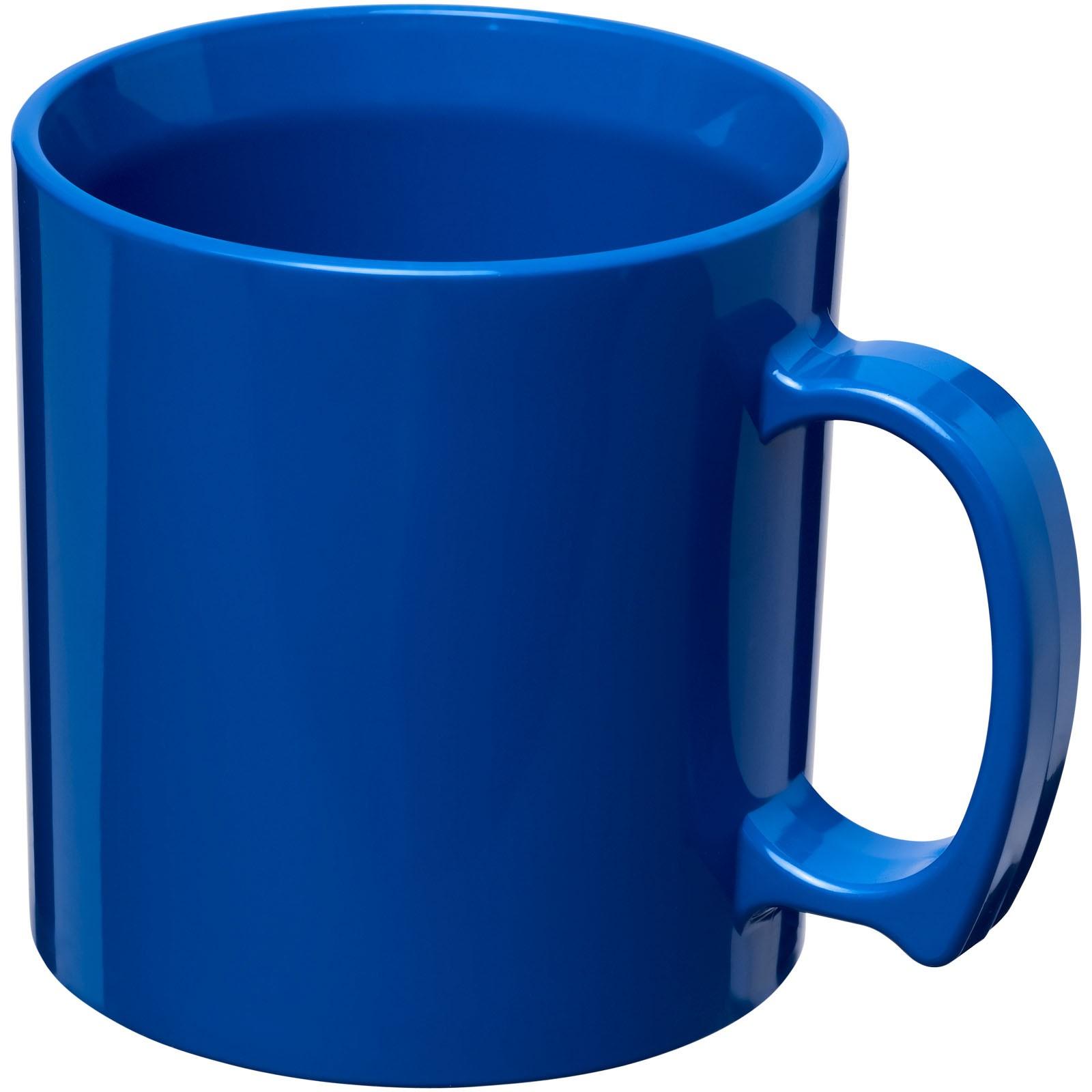 Standard 300 ml Kunststoffbecher - Blau