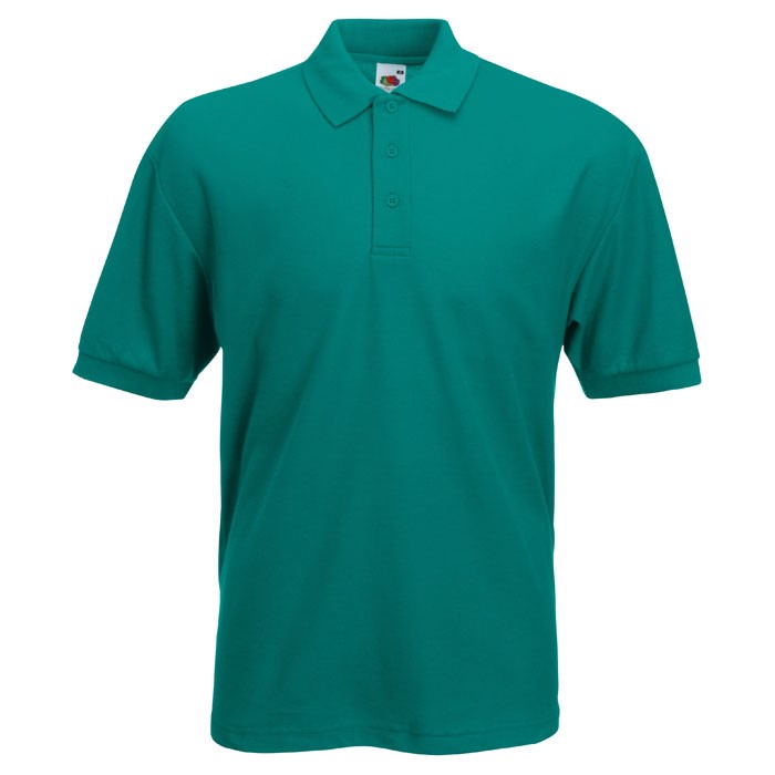 Polokošile piqué 65/35 Blended Polo 63-402-0 - Emerald / 3XL