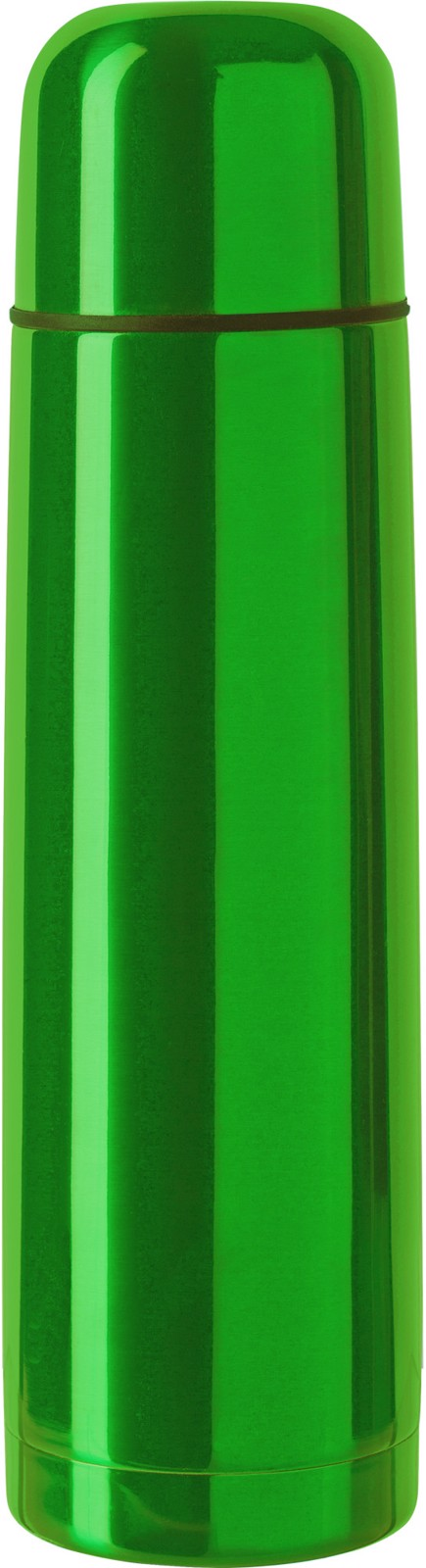 Stainless steel double walled flask - Green