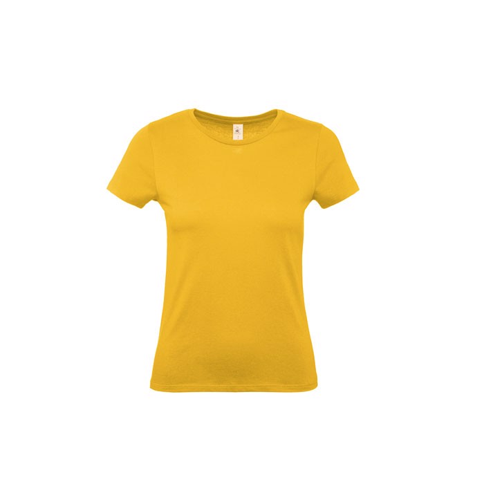 T-shirt female 185 g/m² #E190 /Women T-Shirt - Gold / XXL