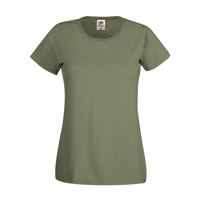 Lady-Fit T-shirt 145 g/m² Lady-Fit Original Tee 61-420-0 - Classic Olive / XS
