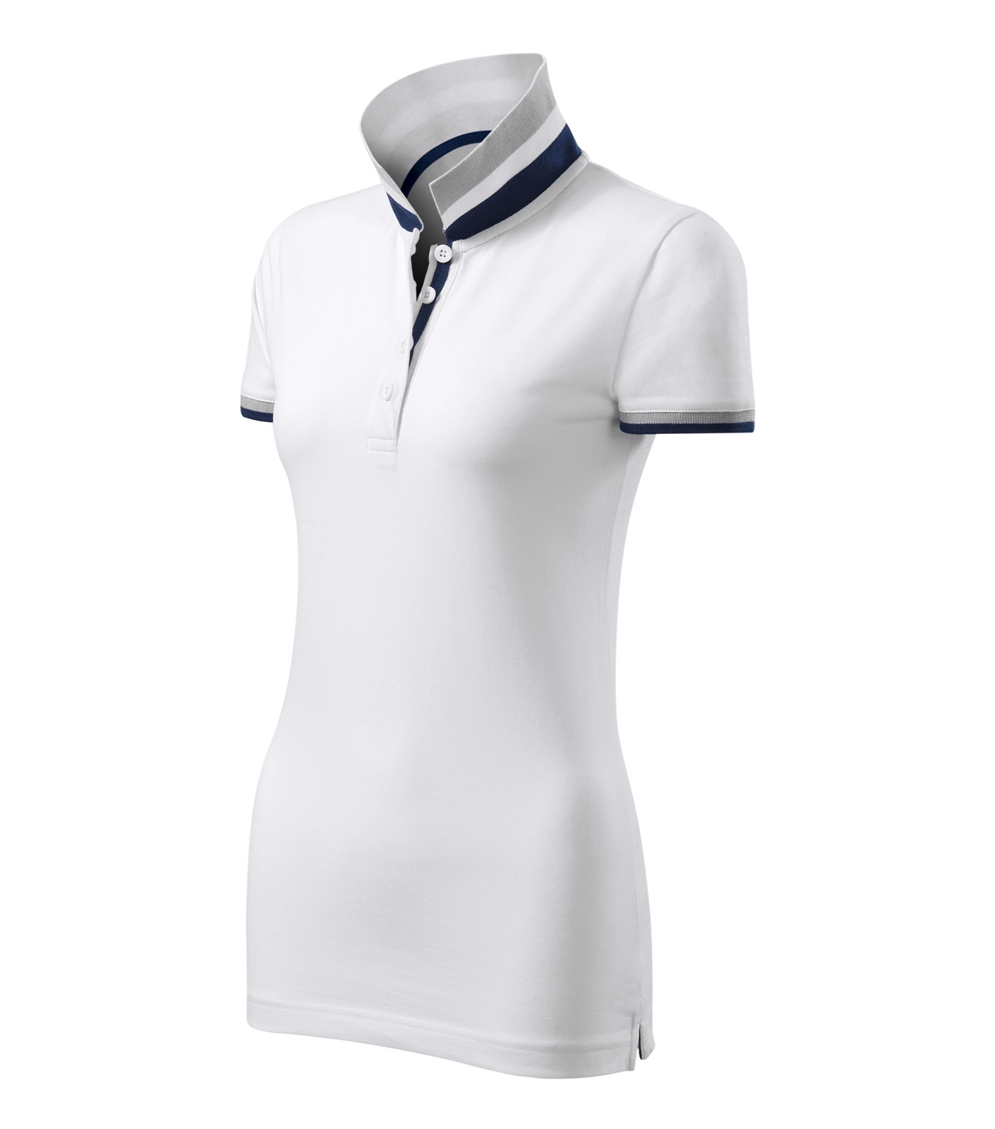 Polokošile dámská Malfinipremium Collar Up - Bílá / M