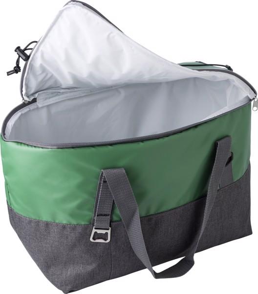 Polycanvas (600D) cooler bag - Green