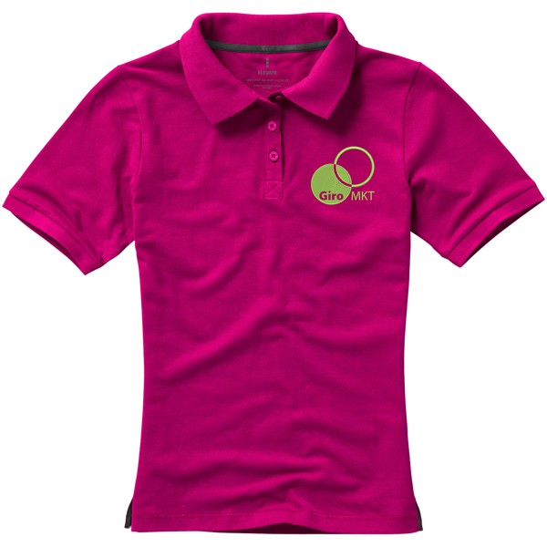 Calgary short sleeve women's polo - Magenta / XXL