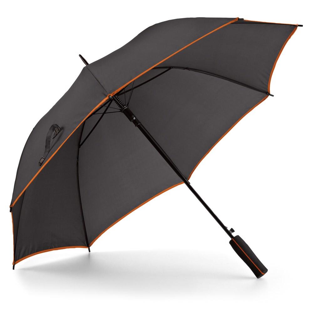 JENNA. Deštník s automatickým otevíráním - Oranžová