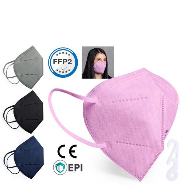 Mascarilla Autofiltrante FFP2 Color Tensil - Gris