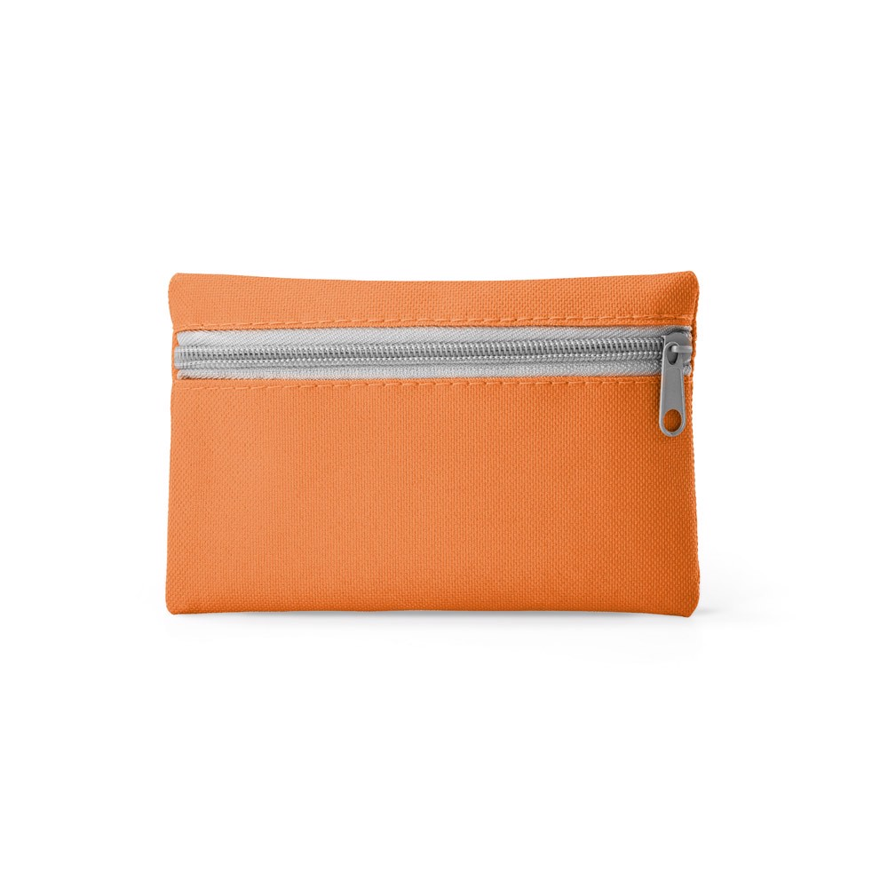 VIVIANI. Peněženka s klíčenkou - Oranžová