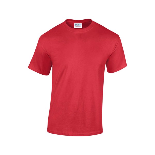 Tlusté tričko 185 g/m² Heavy T-Shirt 5000 - Red / XXL