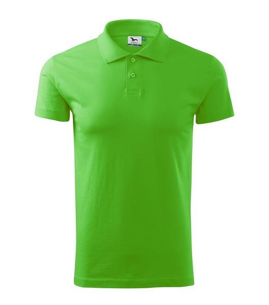 Polo Shirt men's Malfini Single J. - Apple Green / XL