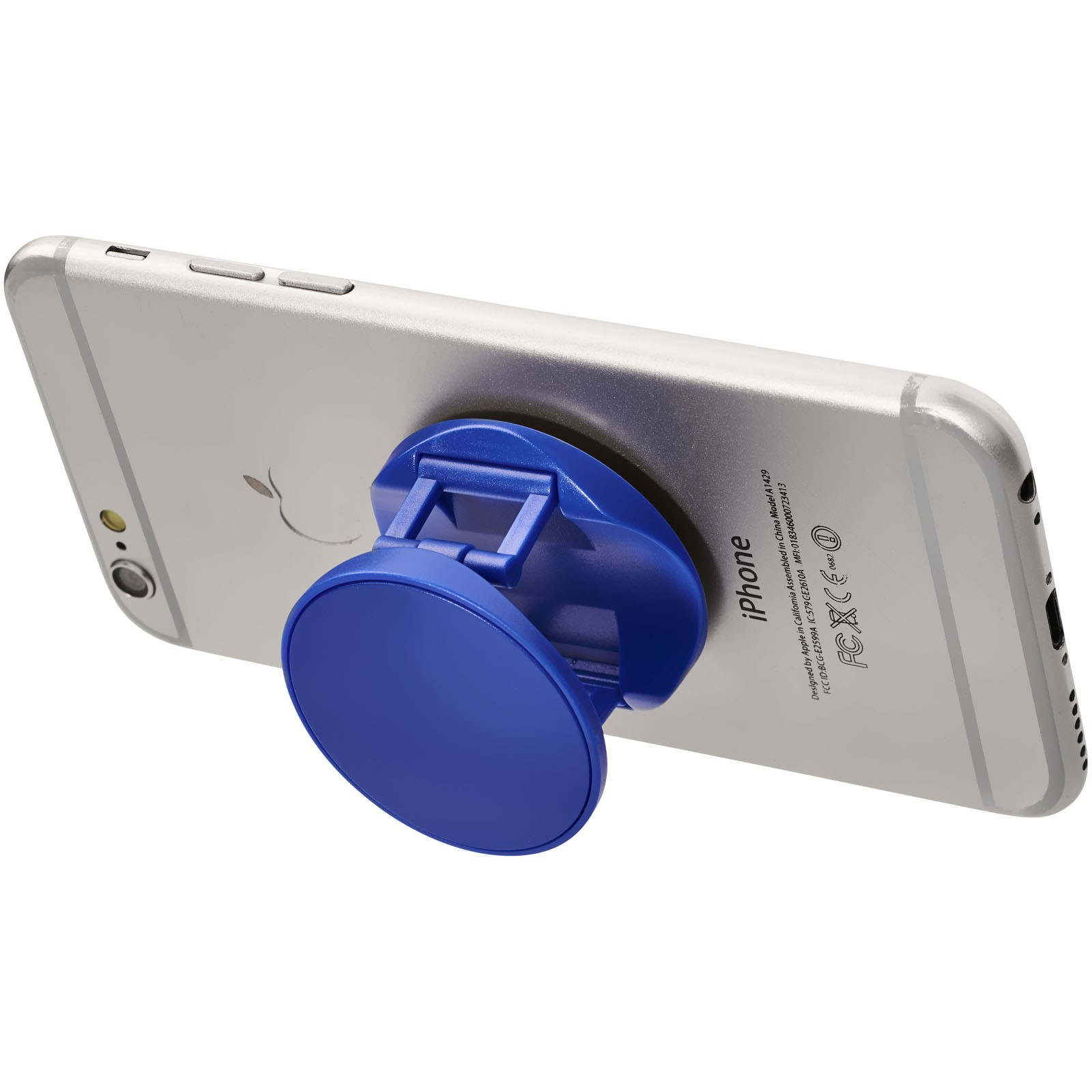 Brace phone stand with grip - Royal blue