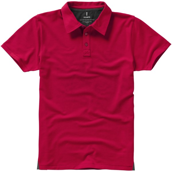 Markham short sleeve men's stretch polo - Red / XXL