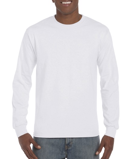 Hammer Adult Long Sleeve T-Shirt - White / 5XL