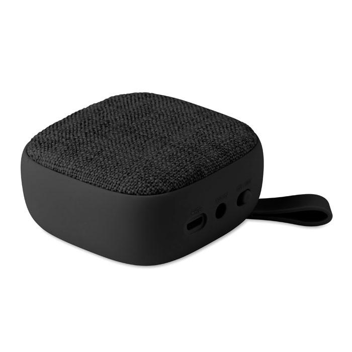 Square Wireless Speaker Rock - Black