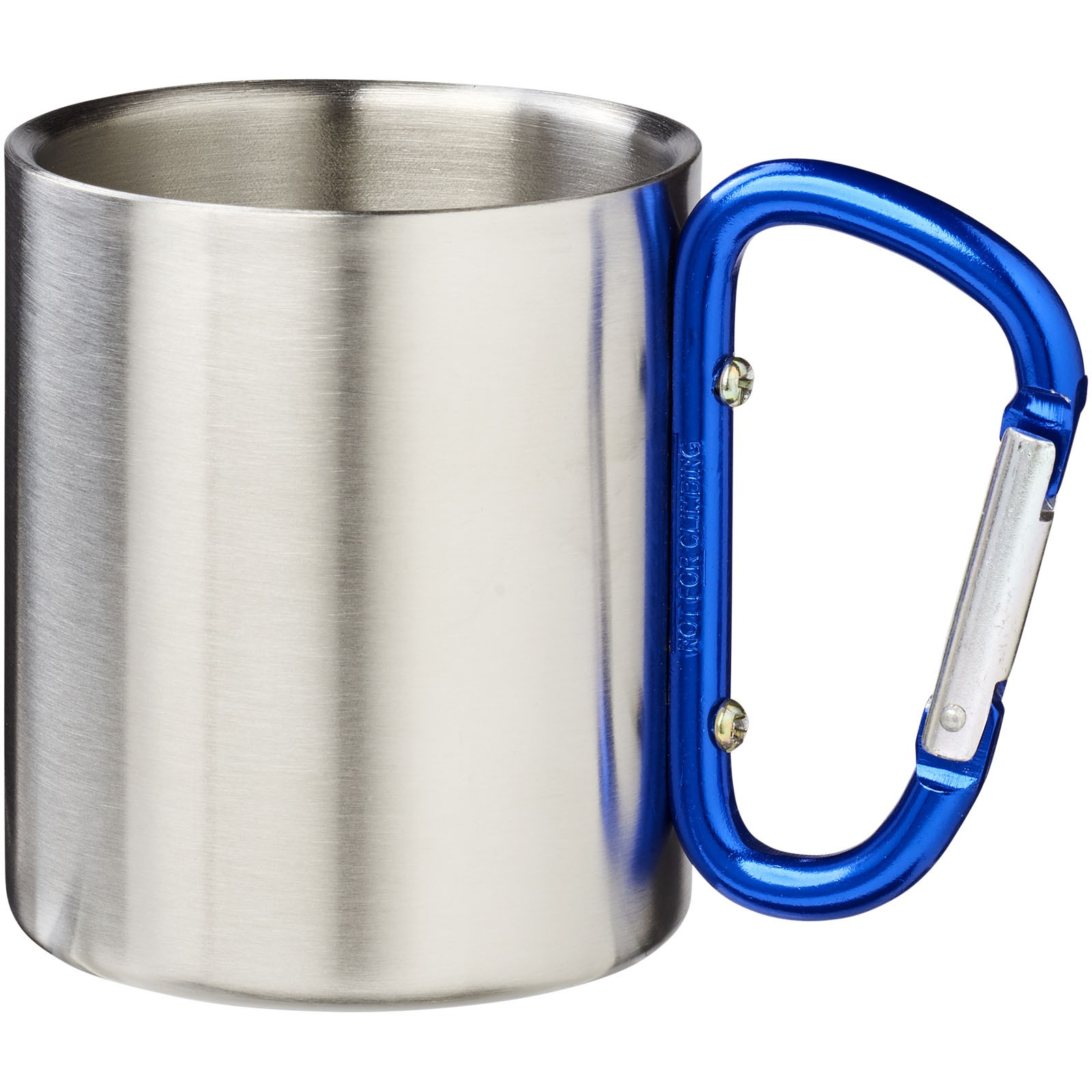 Alps 200 ml insulated mug with carabiner - Blue