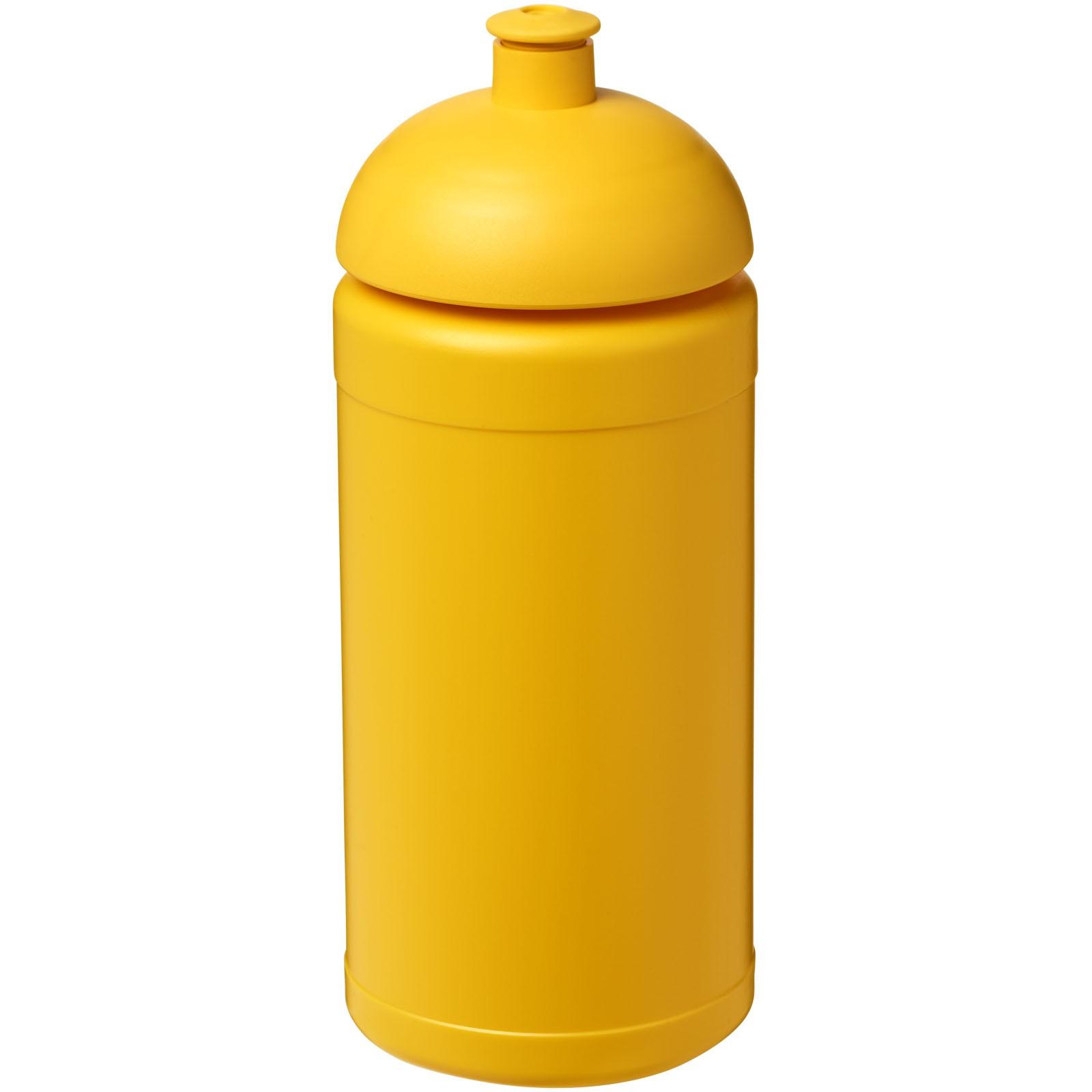 Sportovní láhev s kupolovitým víčkem Baseline® Plus 500 ml - Žlutá