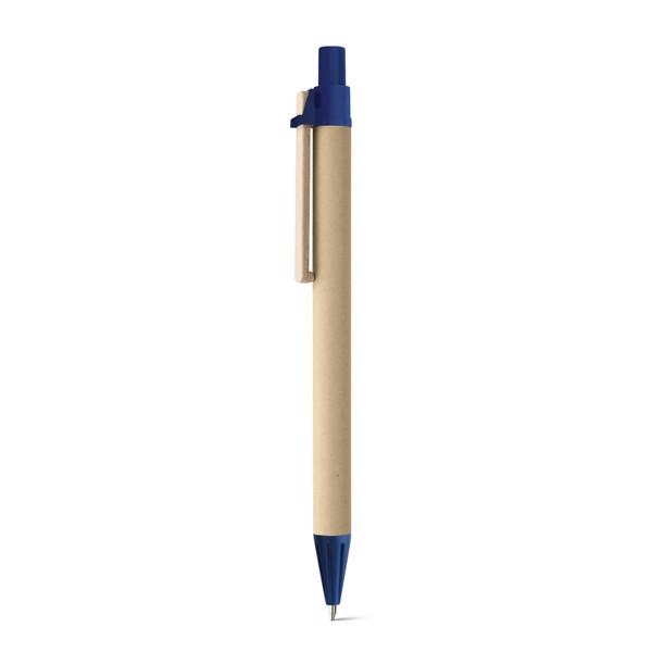 NAIROBI. Paper kraft ball pen - Blue