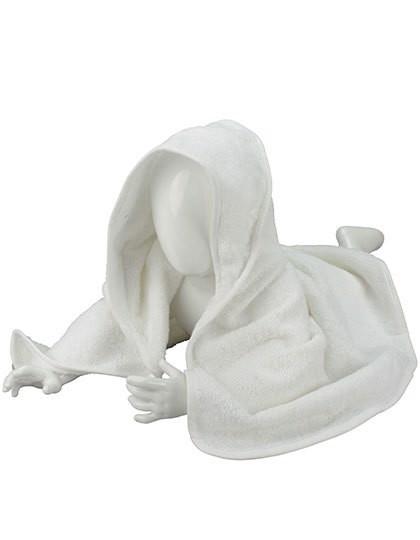 Babiezz® Hooded Towel - White / White / White