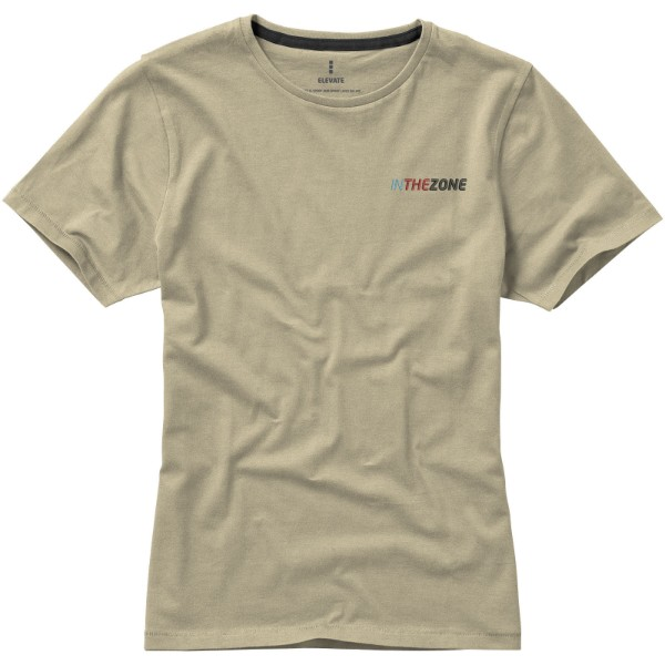 Nanaimo short sleeve women's T-shirt - Khaki / M