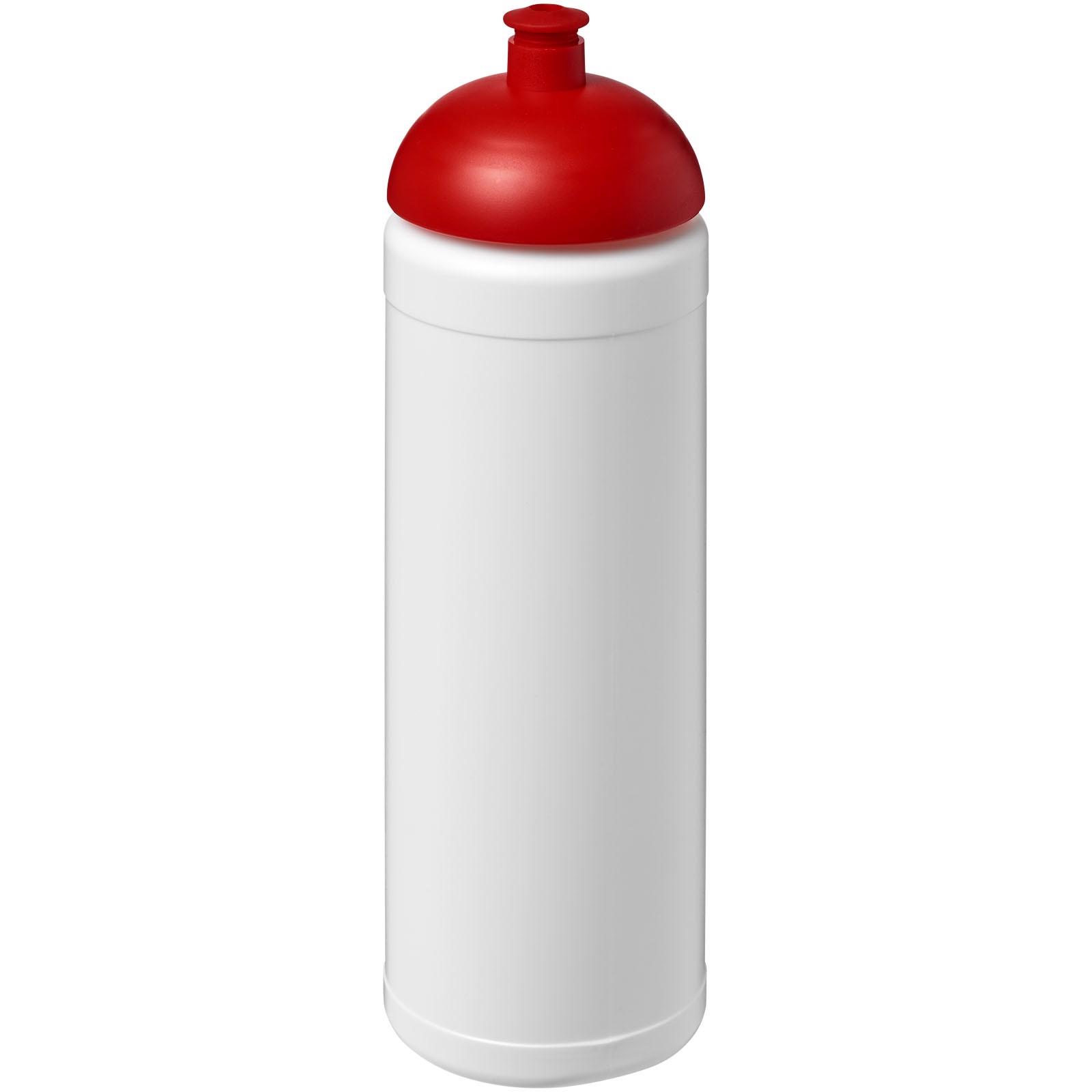Baseline® Plus 750 ml dome lid sport bottle - White / Red