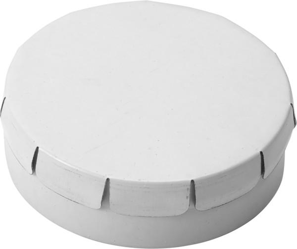 Tin with mints - White