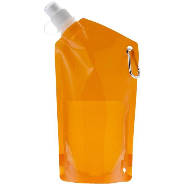 Nápojový sáček Cabo - Transparentní oranžová