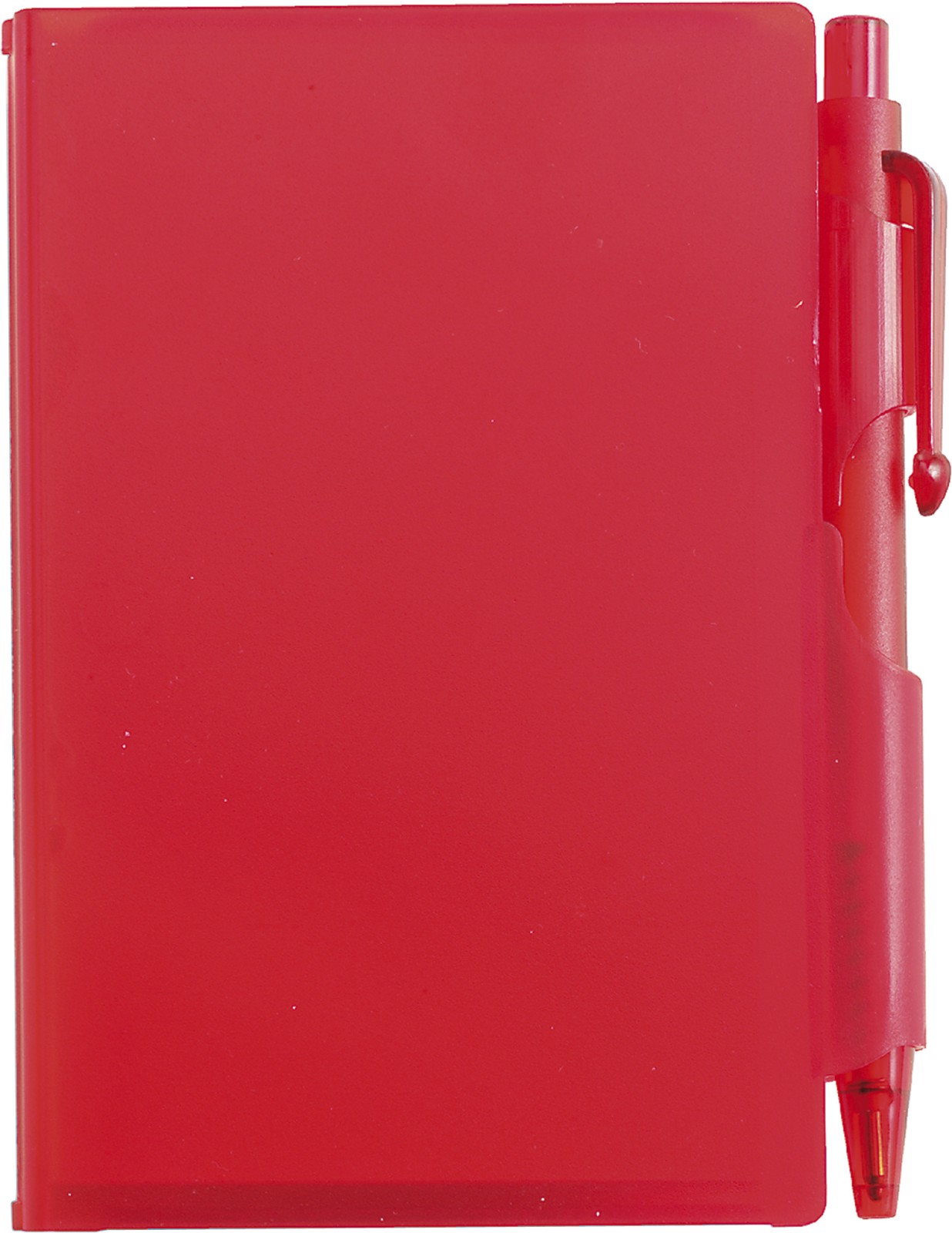 ABS notebook with pen - Red