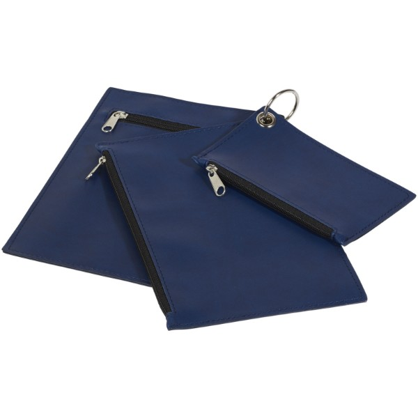 Inca Schlüsselring-Clutch - Blau