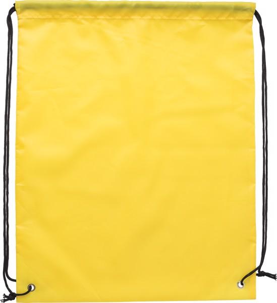 Mochila de poliéster 190T RPET - Yellow