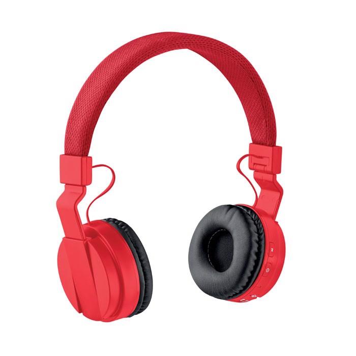 Foldable Bluetooth Headphone Pulse - Red