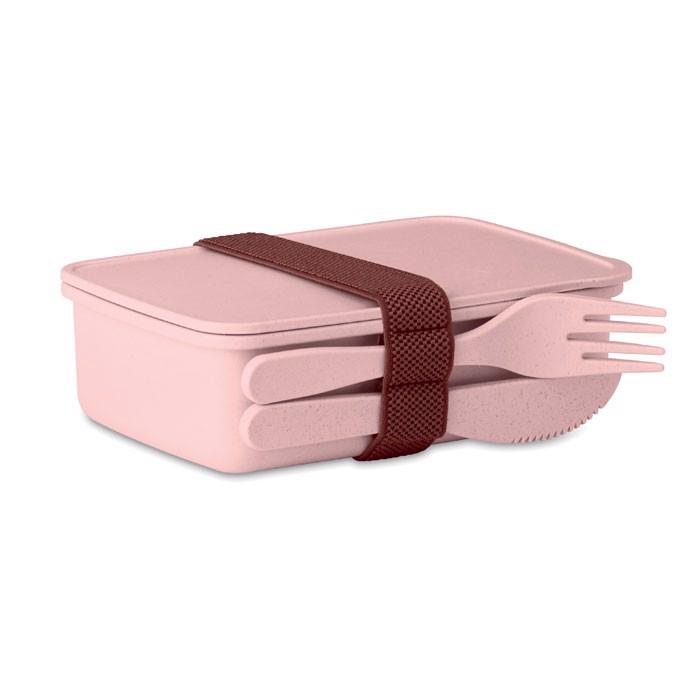 Pudełko na lunch Astoriabox - różowy