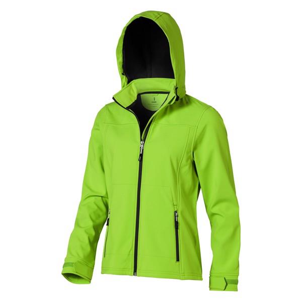 Langley softshell ladies jacket - Apple green / XXL