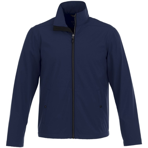 Karmine men's softshell jacket - Navy / XS