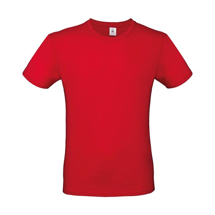 T-shirt 145 g/m² #E150 T-Shirt - Red / M