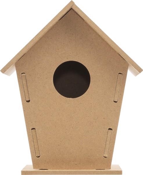 Vogelhaus 'Bird', Bausatz aus Holz