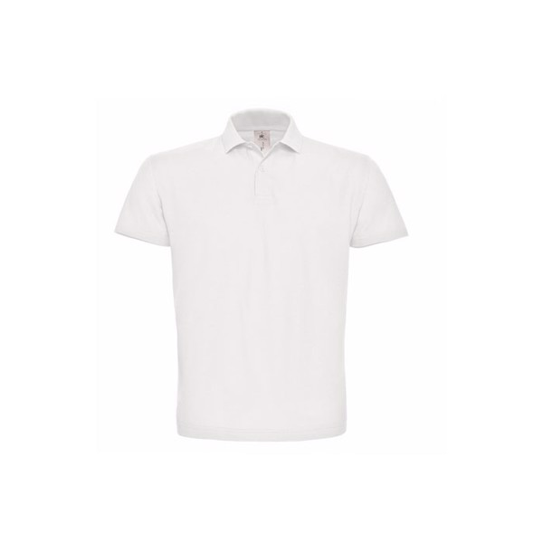 Men's Polo Shirt 180 g/m2 Pique Polo Shirt Id.001 Pui10 - White / XXL